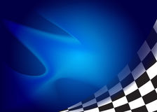 Race, checkered flag background. Vector Royalty Free Stock Image