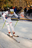 Race in the city, FIS Cross-Country World Cup Stock Image