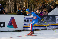 Race in the city, FIS Cross-Country World Cup Royalty Free Stock Photography