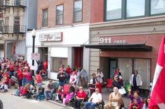 911 Race: Conservative Parade Crowds Cincinnati Stock Photos