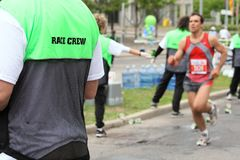 Race Crew - Water Line Royalty Free Stock Images
