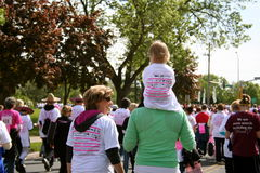 Race for the Cure 2010 Susan G. Komen Royalty Free Stock Image