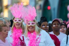 Race For The Cure Royalty Free Stock Photography