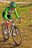 Race of cyclocross Stock Photo