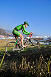 Race of cyclocross Stock Image