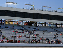 Race Day Fans at Richmond 2. Richmond International Raceway Stands as the Race Day Crowd Royalty Free Stock Image
