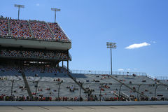 Race Day Fans at Richmond Stock Images