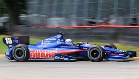 Race  driver Graham Rahal Royalty Free Stock Image