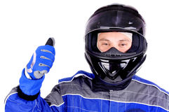Race driver Royalty Free Stock Photos