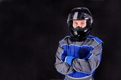 Race driver Stock Photography
