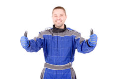 Race driver Royalty Free Stock Photography