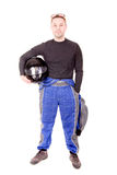 Race driver Royalty Free Stock Photo