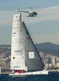 RACE 2014-2015 DU MONDE DE BARCELONE Photos libres de droits