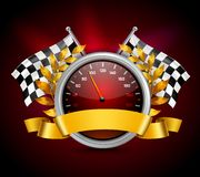 Race Emblem Realistic Royalty Free Stock Images