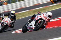 RACE European Junior Cup. Misano Adriatico, Italy - June 21: Honda CBR 650F of Josh Harland Racing Team, driven by HARLAND Joshua in action during the European Stock Photos