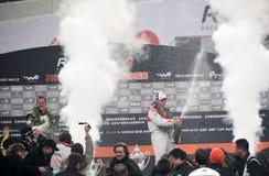 race för 2009 mästare Royaltyfri Bild