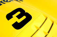 race för bil 3 Royaltyfria Bilder