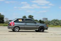 race för bil 33 Royaltyfri Bild