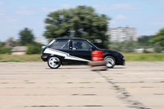 race för bil 51 Royaltyfria Foton