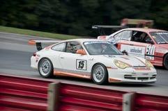 race för bil gt3 porsche Arkivbilder