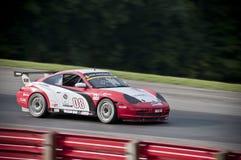 race för bil gt3 porsche Arkivbild
