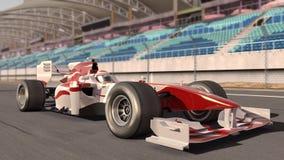 race för bilformel en Royaltyfri Bild