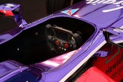 race för bilformel en Royaltyfri Foto
