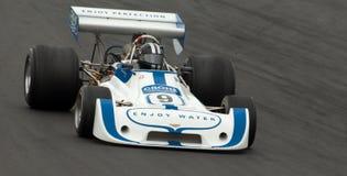 race för bilsparre f1 Arkivbilder