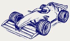 Race för formel 1 stock illustrationer