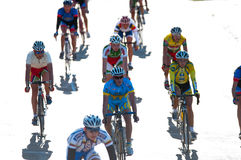 race för klaipeda för 2012 cykeldyner guld- Arkivfoton