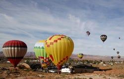 race för luftarizona ballong Royaltyfri Fotografi