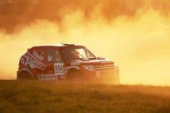 race för polermedel för bajalandskors Royaltyfri Foto