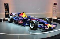 race för bilformel en renault Royaltyfria Bilder