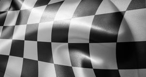 Race flag Stock Photography