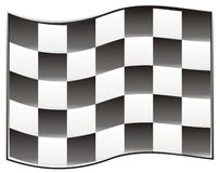 Race flag Stock Photography