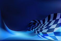 Race flag  background. Vector illustration Royalty Free Stock Photography