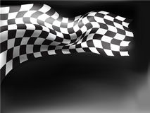 Race flag  background Royalty Free Stock Photography
