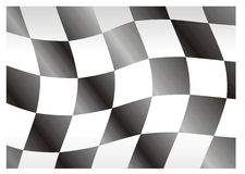 Race flag bright Royalty Free Stock Image