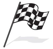 Race flag. Vector illustration of Race flag Royalty Free Stock Image