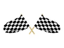 Race Flags Royalty Free Stock Photo
