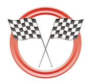 Race flags Stock Image
