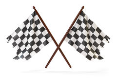 Race flags Stock Photography