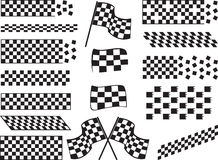 Race flags Royalty Free Stock Image