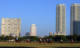 Race Ground In Mumbai Stock Photo