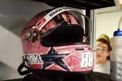 Race helmet Stock Image