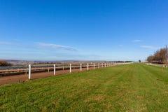 Race Horse Training Tracks Landscape Royalty Free Stock Image