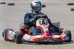 Race karting Royalty Free Stock Photo