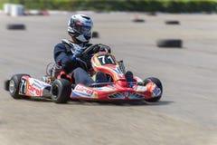 Race karting Royalty Free Stock Photos