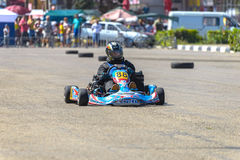 Race karting Royalty Free Stock Image