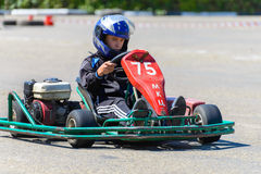 Race karting Royalty Free Stock Photography